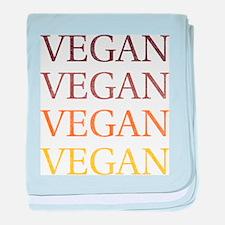 Vintage Vegan baby blanket