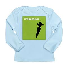 iVegetarian Long Sleeve Infant T-Shirt