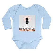 I Think Long Sleeve Infant Bodysuit