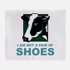 Not A Pair Of Shoes Throw Blanket