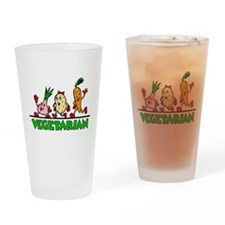 Vegetarian Pint Glass