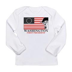 Washington Long Sleeve Infant T-Shirt