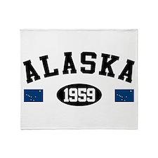 Alaska 1959 Throw Blanket