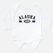 Alaska 1959 Long Sleeve Infant Bodysuit