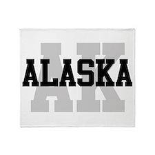 AK Alaska Throw Blanket