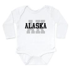 AK Alaska Long Sleeve Infant Bodysuit