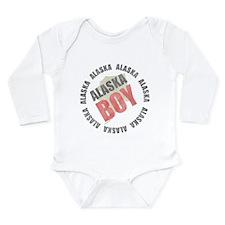 Alaska Boy Long Sleeve Infant Bodysuit