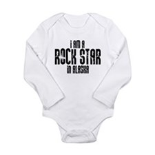 Rock Star In Alaska Long Sleeve Infant Bodysuit