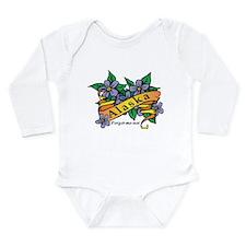 Alaska Long Sleeve Infant Bodysuit