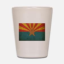 Vintage Arizona Flag Shot Glass