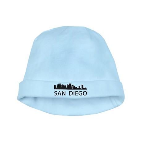San Diego Skyline baby hat