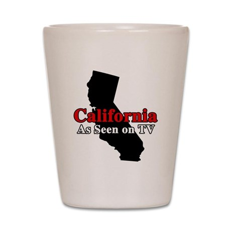California Motto Shot Glass