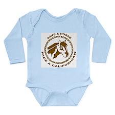 Californian Long Sleeve Infant Bodysuit