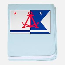 Alameda Flag baby blanket