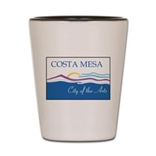 Costa Mesa Flag Shot Glass