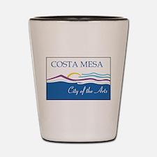 Costa Mesa Flag Shot Glass