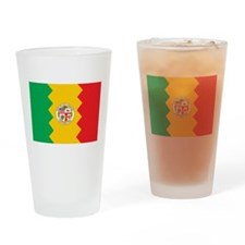 Los Angeles Flag Pint Glass