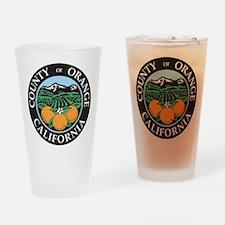 Orange County Seal Pint Glass