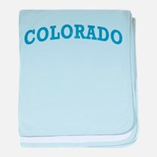 Vintage Colorado baby blanket