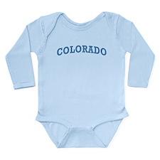 Vintage Colorado Long Sleeve Infant Bodysuit
