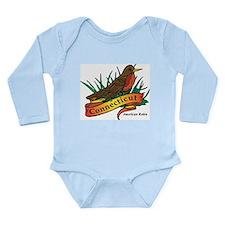 Connecticut Robin Long Sleeve Infant Bodysuit