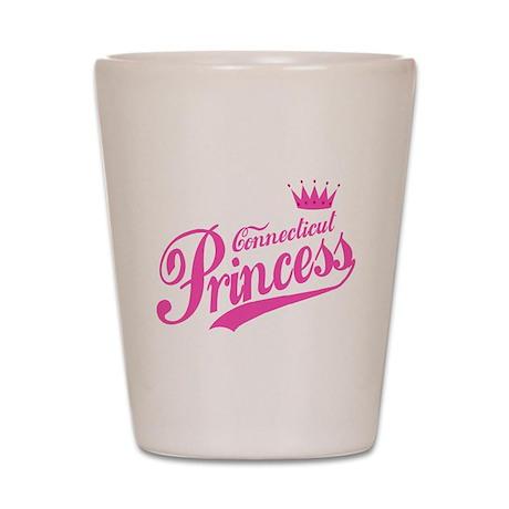Connecticut Princess Shot Glass