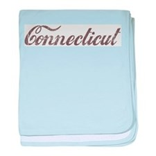 Vintage Connecticut baby blanket