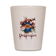 Butterfly Delaware Shot Glass