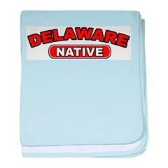 Delaware Native baby blanket