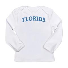 Vintage Florida Long Sleeve Infant T-Shirt