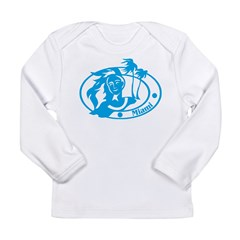 Miami Long Sleeve Infant T-Shirt