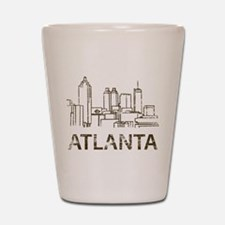 Vintage Atlanta Shot Glass