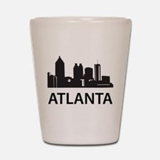 Atlanta Skyline Shot Glass