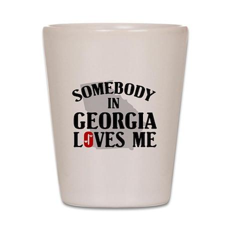 Somebody In Georgia Shot Glass