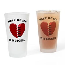 Heart In Georgia Pint Glass