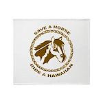 Hawaiian Throw Blanket