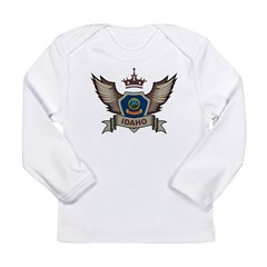 Idaho Emblem Long Sleeve Infant T-Shirt