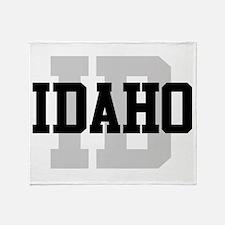 ID Idaho Throw Blanket