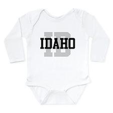 ID Idaho Long Sleeve Infant Bodysuit