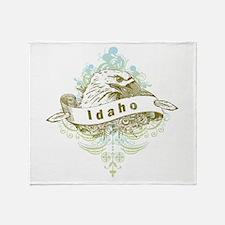 Eagle Idaho Throw Blanket