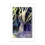 tree winter frescoe mini poster