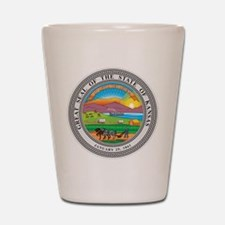 Kansas Seal Shot Glass