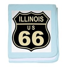 Kansas Route 66 baby blanket