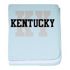 KY Kentucky baby blanket