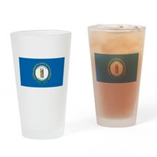 Kentucky Flag Pint Glass