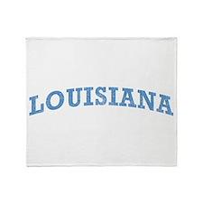 Vintage Louisiana Throw Blanket