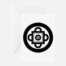 Shambhala Symbol Greeting Cards (Pk of 10)