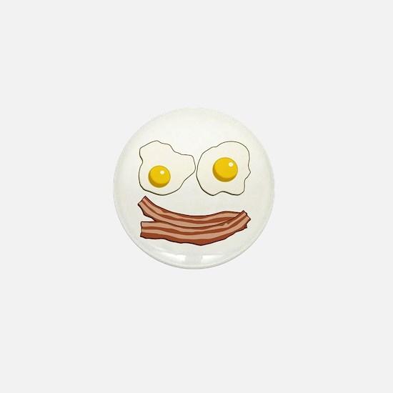 Bacon and Eggs Mini Button