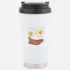 Bacon and Eggs Stainless Steel Travel Mug