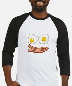 Bacon and Eggs Baseball Jersey